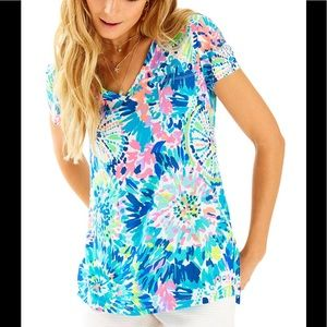 Lilly Pulitzer Meredith Tee Multi Dive